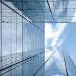 Hochhaus - Glasfassade